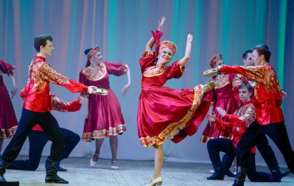 Отчетный концерт Шоу-балета Ольги Андреевой