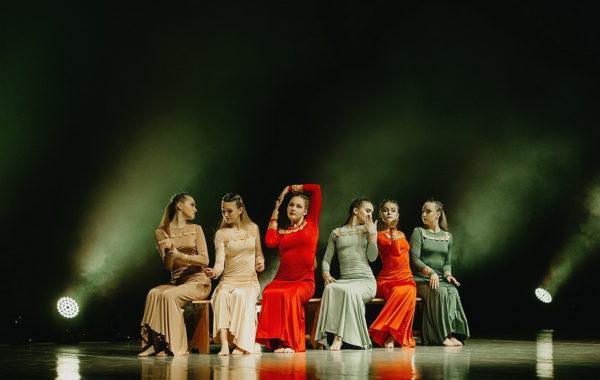 """Отчетный концерт Образцового ансамбля современного танца """"Мелиссента"""""""