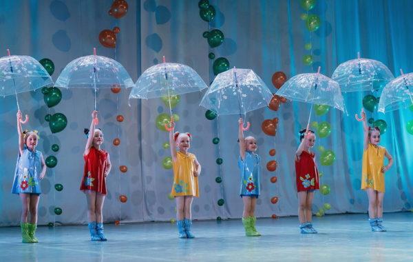 """Детский отчетный концерт образцового ансамбля современного танца """"Мелиссента"""""""